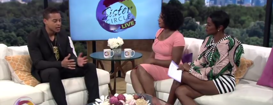 "Sister Circle Live With Robert Ri'chard Talks ""Kinky"""